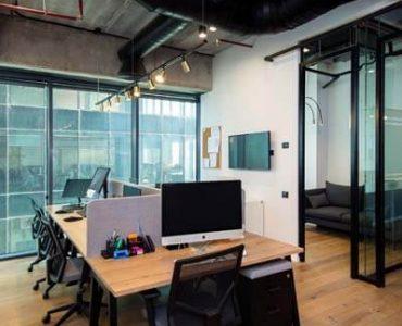 אופן ספייס של משרד להשכרה במגדלי הארבעה תל אביב