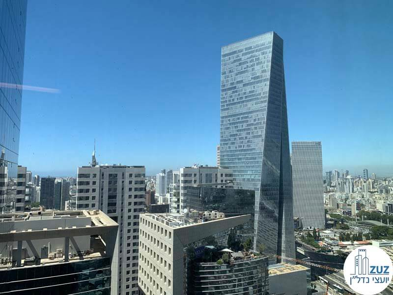 מחירי משרדים במגדל עזריאלי שרונה תל אביב