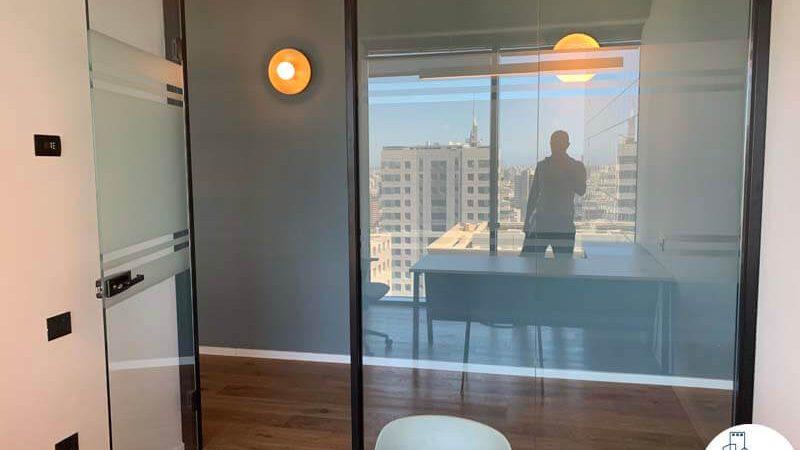 חדר של משרד להשכרה במגדלי הארבעה תל אביב