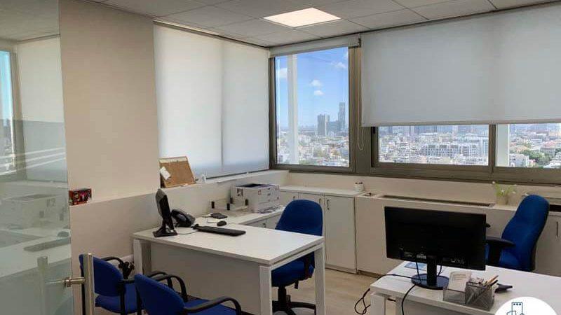 חדר עבודה של משרד להשכרה בבית כלל תל אביב