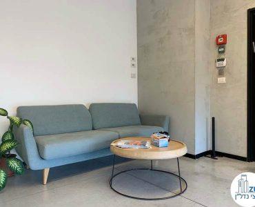 פינת המתנה של משרד להשכרה בשכונת נחלת יצחק תל אביב