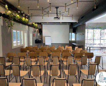 אופן ספייס עם כיסאות של משרד להשכרה במתחם רוטשילד תל אביב