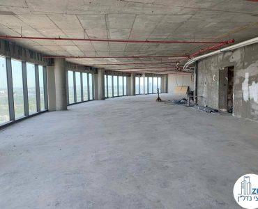 מעטפת של משרד להשכרה במגדל ספיר רמת גן