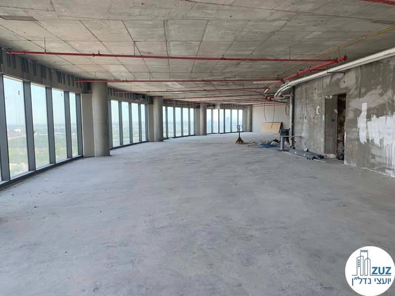 משרד להשכרה במגדל ספיר במתחם הבורסה רמת גן
