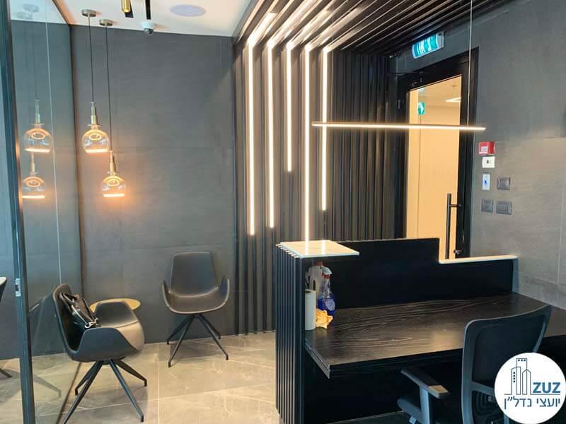 משרדים חדשים מרוהטים בתל אביב