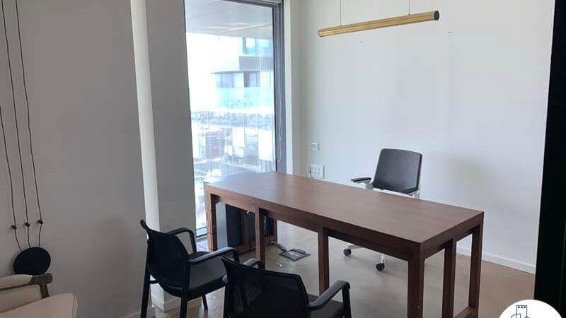 חדר עבודה של השכרת משרד במגדלי הארבעה תל אביב