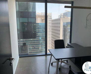 חדר של השכרת משרד במגדלי הארבעה תל אביב
