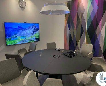 חדר ישיבות של משרד להשכרה במגדל אדגר 360 תל אביב