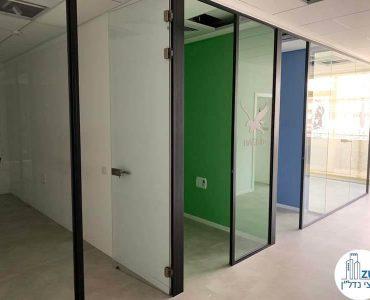כניסה לחדרים של משרד להשכרה בבית אסיה תל אביב