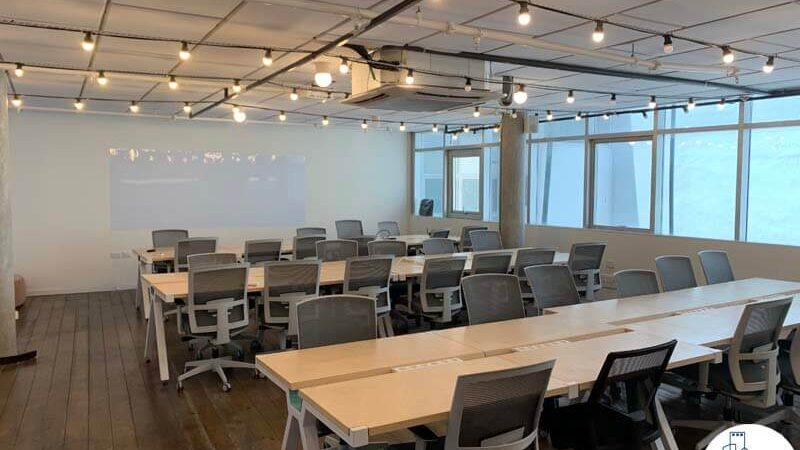 עמדות עבודה של השכרת משרד במתחם רוטשילד תל אביב
