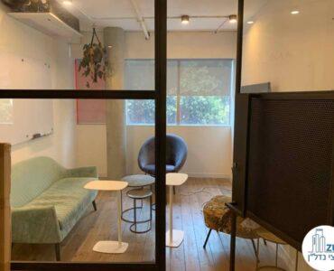 חדר מנוחה של השכרת משרד במתחם רוטשילד תל אביב