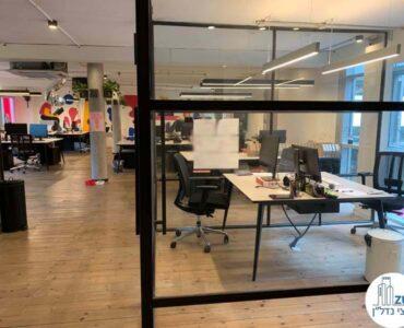 חדר של השכרת משרד במתחם רוטשילד תל אביב