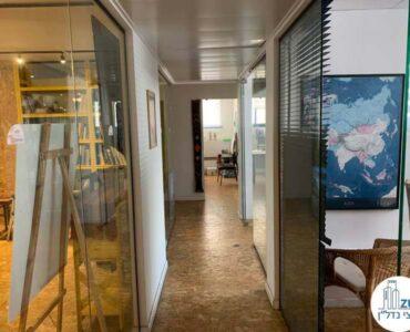 מסדרון של השכרת משרד בשכונת מונטיפיורי תל אביב