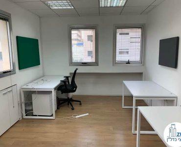 חדר של משרד להשכרה בשכונת מונטיפיורי תל אביב