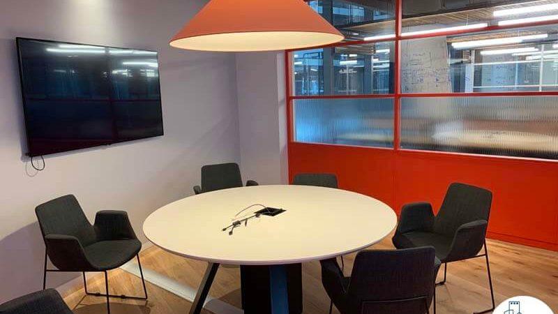חדר ישיבות של משרד להשכרה במגדל תוהא תל אביב