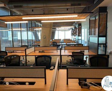 אופן ספייס של משרד להשכרה במגדל תוהא תל אביב