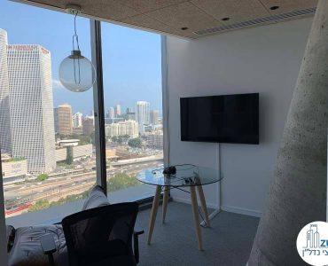 חדר של משרד להשכרה במגדל תוהא תל אביב