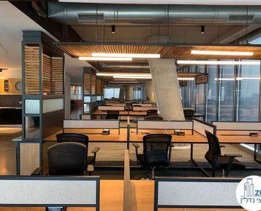 עמדות עבודה של משרד להשכרה במגדל תוהא תל אביב