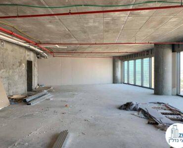 משרד ברמת מעטפת להשכרה במגדל ספיר מתחם הבורסה רמת גן