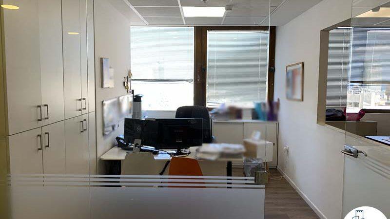 חדר של משרד להשכרה במגדל כלבו שלום תל אביב