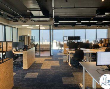 אופן ספייס של משרד להשכרה במגדל מידטאון תל אביב