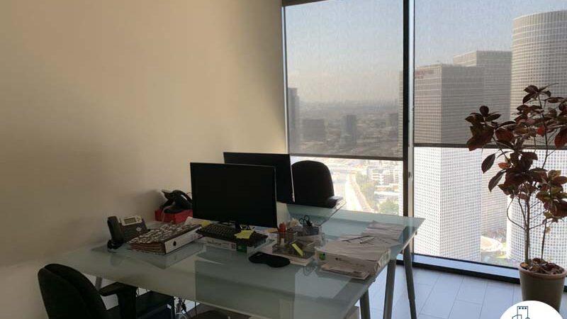 חדר של משרד להשכרה במגדל מידטאון תל אביב