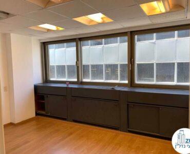 חדר של משרד להשכרה במתחם בארבעה תל אביב