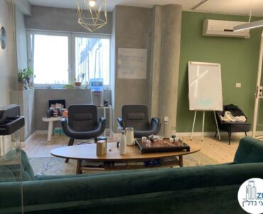 חדר מנהלים של משרד להשכרה במתחם רוטשילד תל אביב