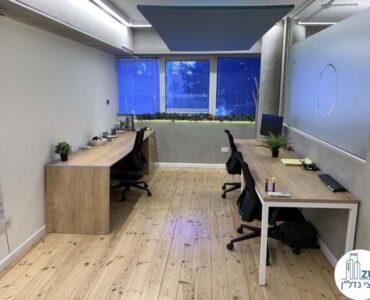 עמדות עבודה של משרד להשכרה במתחם רוטשילד תל אביב
