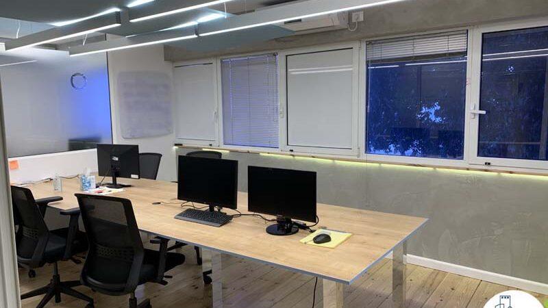 חדר עבודה של משרד להשכרה במתחם רוטשילד תל אביב