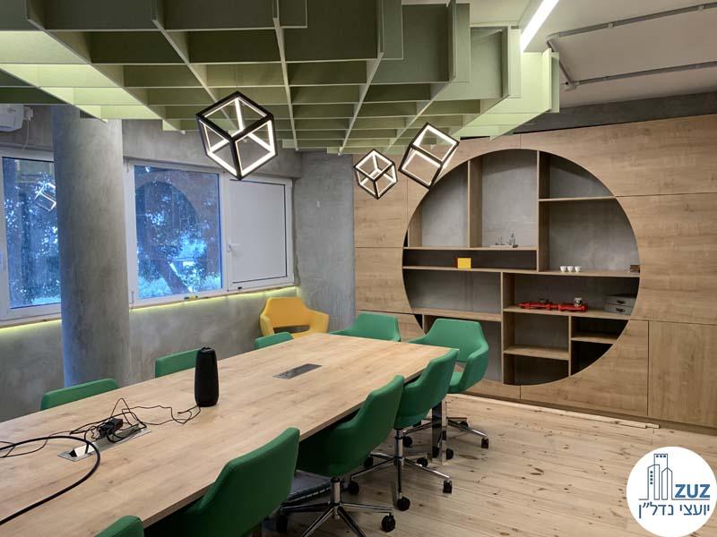חדר ישיבות של משרדים להשכרה בתל אביב