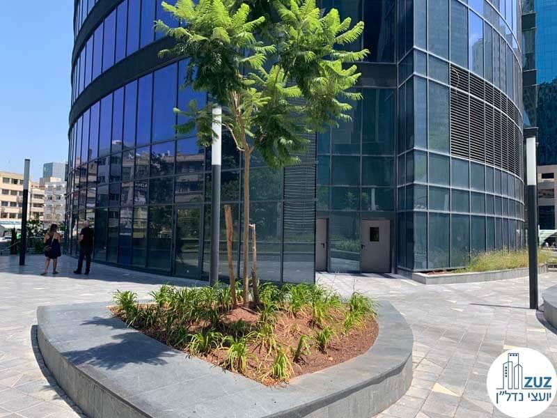 שטח מסחרי במגדל ספיר מתחם הבורסה רמת גן