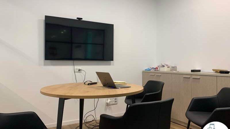 חדר ישיבות במשרד של לקוחות מרוצים מעסקת תיווך בבית אופקים תל אביב