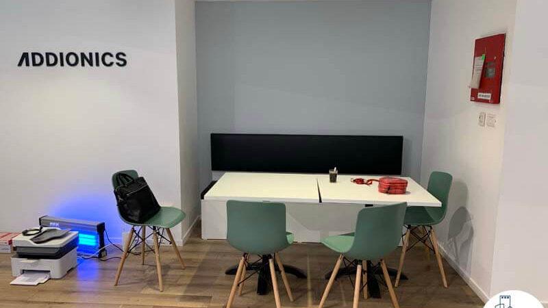 פינת ישיבה במשרד של לקוחות מרוצים מעסקת תיווך בבית אופקים תל אביב