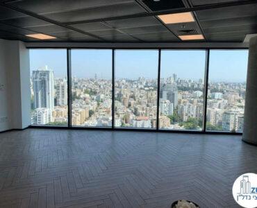 אופן ספייס של משרד להשכרה במגדל רסיטל תל אביב