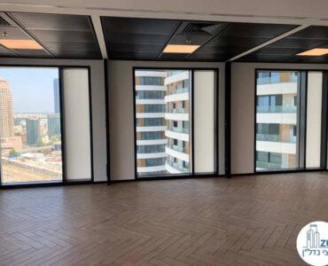 אופן פסייס של משרד להשכרה במגדל רסיטל תל אביב