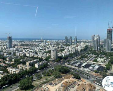 משרד להשכרה ברסיטל עם נוף לים בתל אביב
