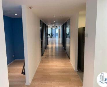 מסדרון של משרד להשכרה בבית אגיש רבד תל אביב
