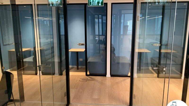 חדרי ישיבה פרטיים של משרד להשכרה בבית אגיש רבד תל אביב