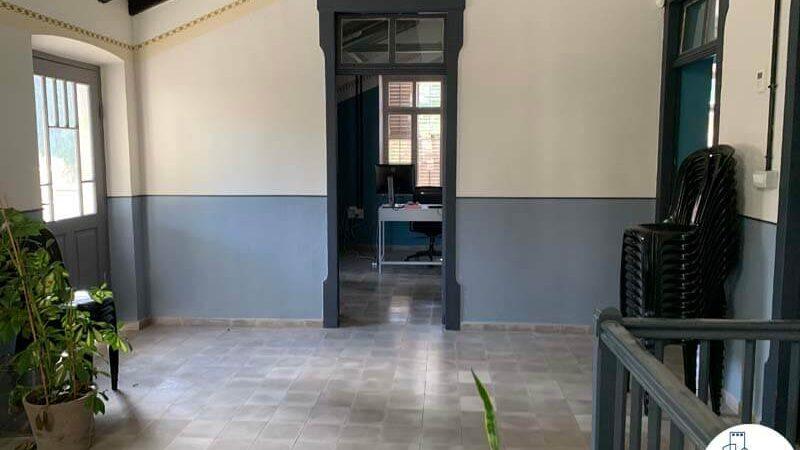 כניסה לחדרים של משרד להשכרה בטמפלרים בשרונה תל אביב