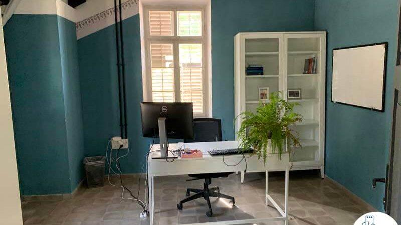 חדר עבודה של משרד להשכרה בטמפלרים בשרונה תל אביב
