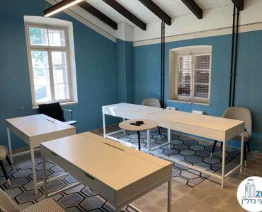 עמדות עבודה של משרד להשכרה בטמפלרים בשרונה תל אביב