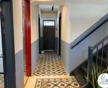 מסדרון של משרד להשכרה בטמפלרים בשרונה תל אביב