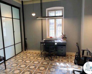 חדר של משרד להשכרה בטמפלרים בשרונה תל אביב