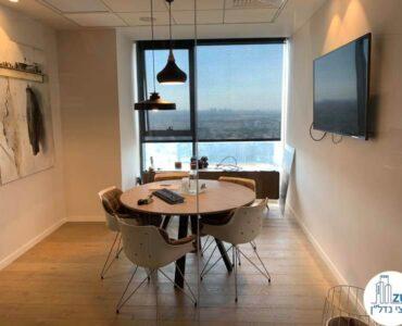 חדר של משרד להשכרה במגדלי אלון תל אביב