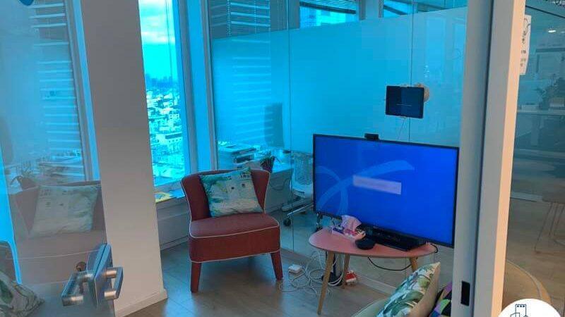חדר של משרד להשכרה במגדל דיסקונט תל אביב