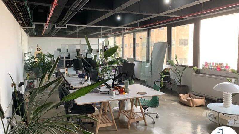 אופן ספייס של משרד להשכרה במגדל כלבו שלום תל אביב