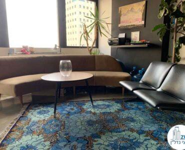 ספה של משרד להשכרה במגדל כלבו שלום תל אביב