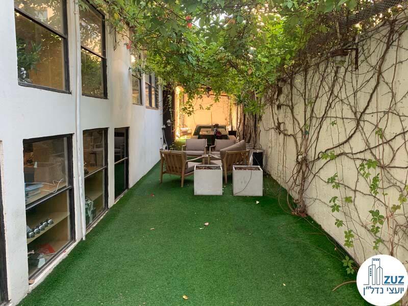 גינה של משרד להשכרה בתל אביב