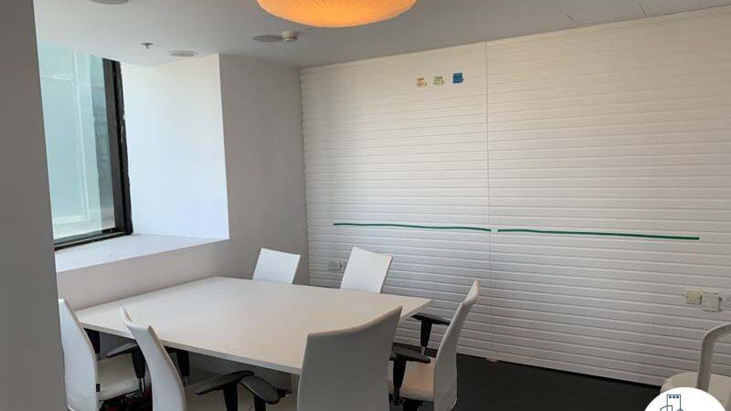 חדר עבודה של משרד להשכרה עם מרפסת בשדרות רוטשילד תל אביב